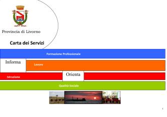 Carta dei Servizi - Provincia di Livorno
