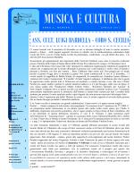 Anno 2 numero 1 - Associazione Culturale Luigi Bardella