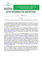 N. 13/II – 17 giugno 2014 A.C. 2426 Le misure in favore del