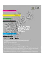 Landscape - esiti - Università degli Studi Mediterranea