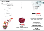Brochure SafeLabel