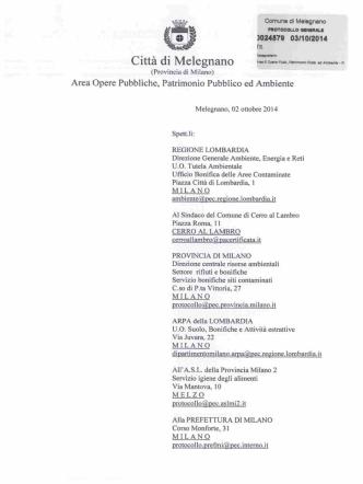 3024679 03HM2014 - Comune di Melegnano