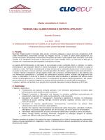 Piano degli studi - Università Telematica Unitelma Sapienza