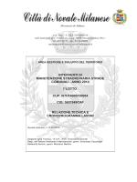 Relazione tecnica e cronoprogramma