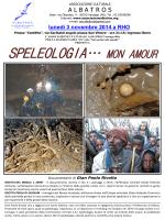 SPELEOLOGIA… MON AMOUR
