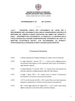 DETERMINAZIONE N° 337 DEL 24/12/2014 ———— Oggetto