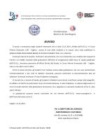 AVVISO - Università degli studi di Cagliari.