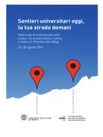 il programma - Università degli Studi di Trento