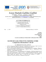 Liceo Statale Galileo Galilei Piedimonte Matese