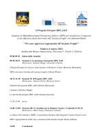 Il Progetto Europeo MPI_AGE Impiego di Multidimensional