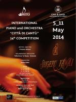 5_11 May 2014 - Concorso Internazionale per Pianoforte e