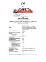 Marcatura CE - Misto Stabilizzato