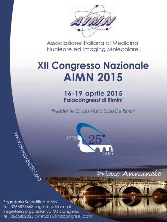 Annuncio_Layout 1 - XII Congresso Nazionale AIMN
