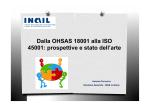 Dalla OHSAS 18001 alla ISO 45001: prospettive e
