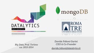 Datalytics @ Roma Tre