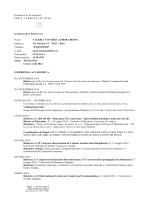 CV Dott. Aurora Bosna