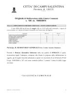 File: Documento allegato - Comune di Campi Salentina