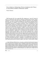 Una scheda su Sebastiano Erizzo traduttore del Timeo (e una lettera