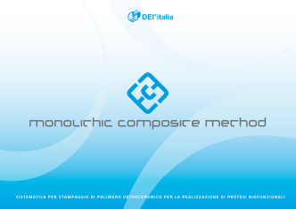 4 mcm® - monolitHic compoSite metHod