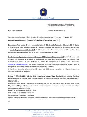 clicca qui - FISE Comitato Veneto