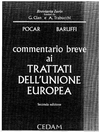Commentario (copertina, autori e indici)