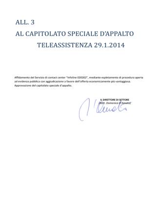 All.3 Capitolato - Comune di Milano