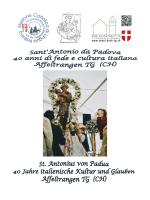 Festschrift - Katholische Kirche im Thurgau