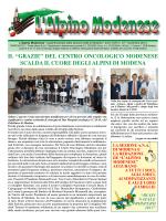 Dicembre 2014 - Sezione Modena