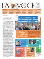 La Voce n.37 del 17 Ottobre 2014