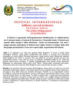 Plovdiv - Mediteranian organization