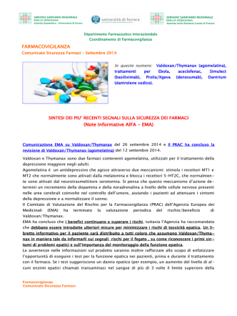 comunicato sicurezza settembre 2014