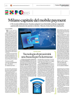 Milano capitale del mobile payment