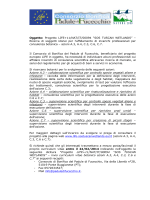 """Oggetto: Progetto LIFE+11/NAT/IT/00094 """"SOS TUSCAN WETLANDS"""""""