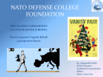 Diapositiva 1 - NATO - Defense College Foundation