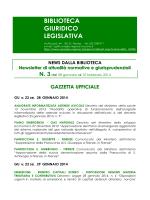 News 3 2014bgl - Consiglio Regionale della Toscana