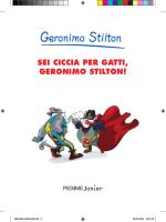 SEI CICCIA PER GATTI, GERONIMO STILTON!