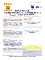REAS POLICE - Centro Fiera del Garda