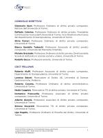 CONSIGLIO DIRETTIVO CDCT FELLOWS