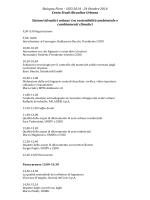 Bologna Fiere – H2O 2014 - 24 Ottobre 2014 Cento