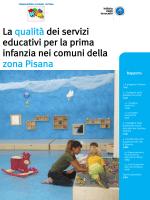 La qualità dei servizi educativi per la prima infanzia nei comuni della