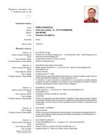 Curriculum - ORDINE DEGLI INGEGNERI della PROVINCIA DI
