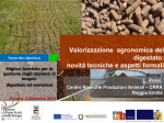 Valorizzazione agronomica del digestato: novità tecniche e aspetti