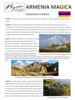 Scarica il PDF con i dettagli della escursione in Armenia