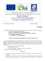 verbale di affidamento A1-FESR06-POR Campania