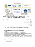 agenda settimanale impegni oo.cc. integrazione