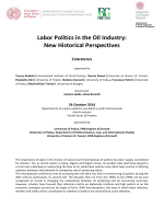 Labor Politics in the Oil Industry