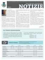 Notiziario 2014 - Comune di San Pietro Viminario