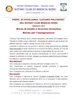 rotary club di brescia nord - Istituto di Istruzione Superiore Giovanni