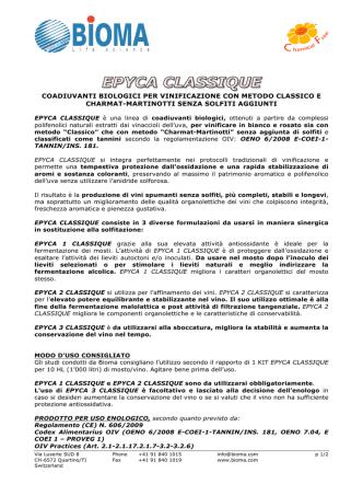 20140617 EPYCA CLASSIQUE vini spumanti senza solfiti