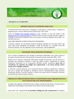 Newsletter 010 - Ordine dei Chimici di Roma
